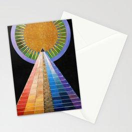12,000pixel-500dpi - Hilma af Klint - Altarpiece - Digital Remastered Edition Stationery Cards