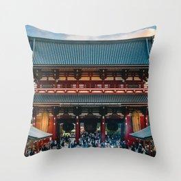 Tokyo 98 Throw Pillow