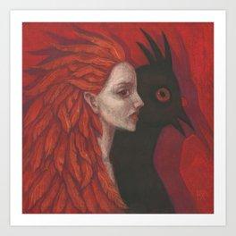 Psychopomp Art Print