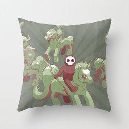 My Little Apocalypse Throw Pillow