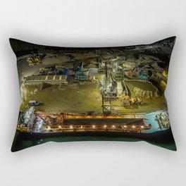 The Dredger. Rectangular Pillow