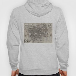Vintage Map of Florence Italy (1847) Hoody