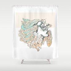 P L U M Shower Curtain