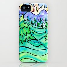 WILD AND FREE Slim Case iPhone (5, 5s)