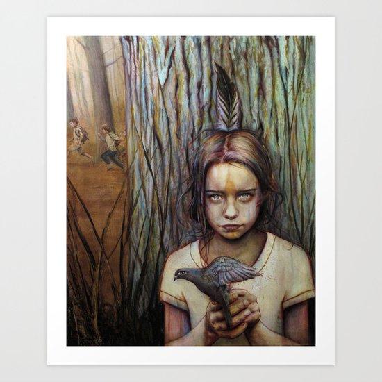 Kierra Art Print