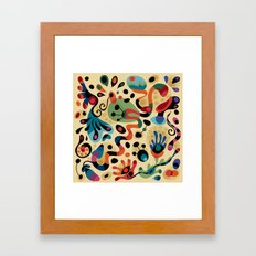 Wobbly Life Framed Art Print