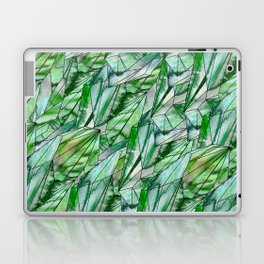 Crystal Emerald Green Gem 1 Laptop & iPad Skin