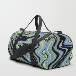 Fluid Abstract 09 Duffle Bag