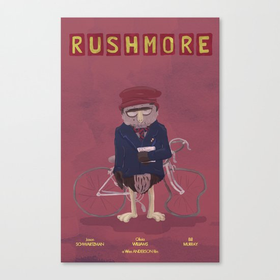 more of a rush Canvas Print