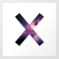 the xx Art Prints featuring XX by Adrian Lungu