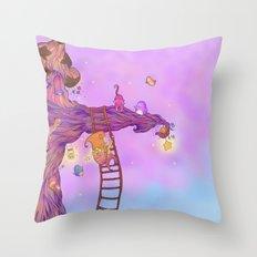 The Star keeper Throw Pillow