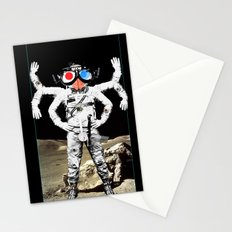 Space Lord Collage 2 Stationery Cards