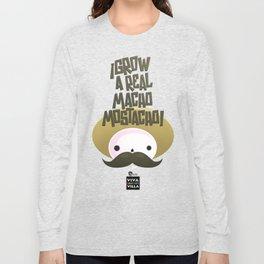 macho mostacho  Long Sleeve T-shirt