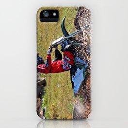 Moto Cross iPhone Case