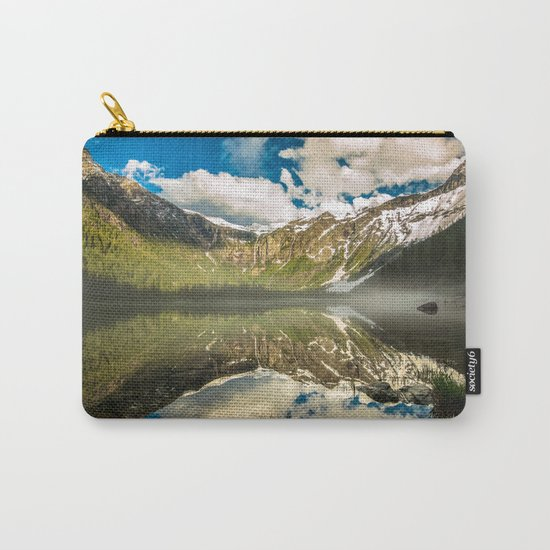 Mountains Reflection Carry-All Pouch