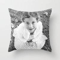 child Throw Pillows featuring Child by JJ's Photography