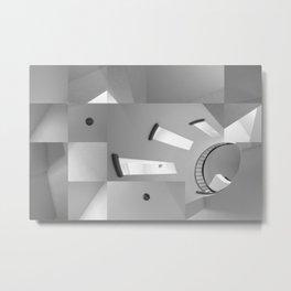 Deconstruction1 Metal Print