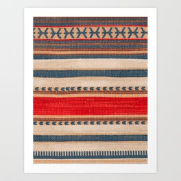 Bohemian Traditional Moroccan Style Artwork Art Print