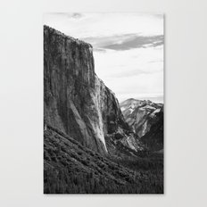 Yosemite El Capitan Canvas Print