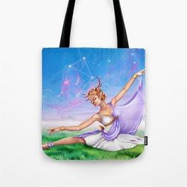 Libra OC - 12 Zodiac Ladies Tote Bag