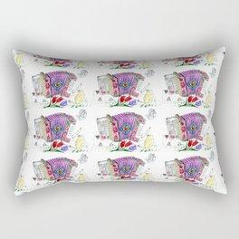 Decorative accordion Rectangular Pillow