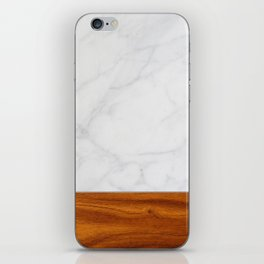 Marble and Wood 2 iPhone Skin