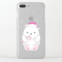 Polar bear Clear iPhone Case