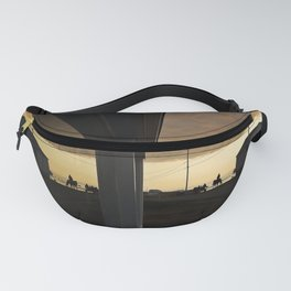 Riding Off Into the Sunset Fanny Pack