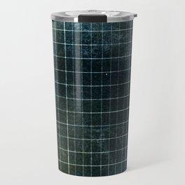 Weathered Grid Travel Mug