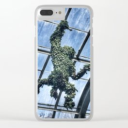 Monkey Topiary Clear iPhone Case
