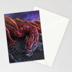 Red Wyvern Stationery Cards