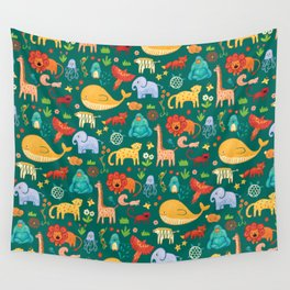 Animals Wall Tapestry