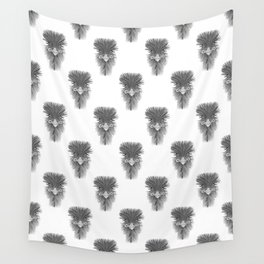 Emu Pattern Wall Tapestry