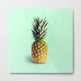 Pineapple Metal Print