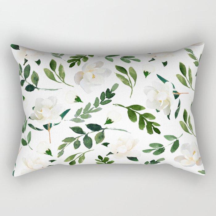 Magnolia Tree Rectangular Pillow