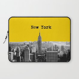 New York Poster Laptop Sleeve