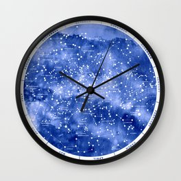 Northern Stars Wall Clock