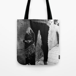 SkateBoard Girl Tote Bag