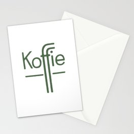 Koffie Stationery Cards
