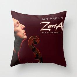 """Ian Maksin """"ZARIA"""" new album release memorabilia Throw Pillow"""