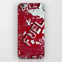 pocket fuel iPhone & iPod Skins featuring Fuel by AmandaMuses