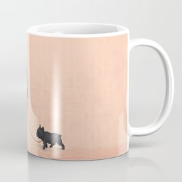A Man with a Dog Coffee Mug