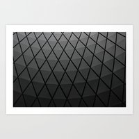 Transit Center Ceiling Art Print