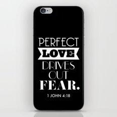 Perfect love iPhone & iPod Skin