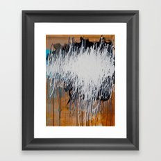Hallowed Be Thy Name | Feedback Painting Framed Art Print