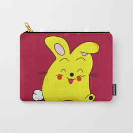 Funny Bun Bun Carry-All Pouch