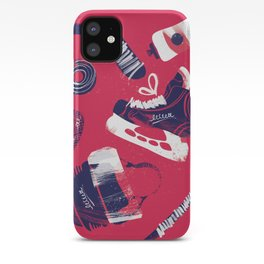 Tools of a Hockey Player iPhone Case