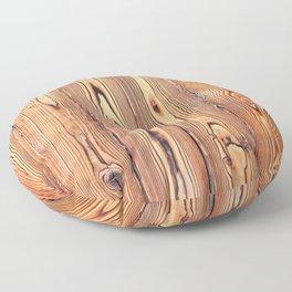 Wood texture. Wood Grain. Natural dark wooden planks. Floor Pillow
