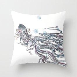 Self Control Throw Pillow