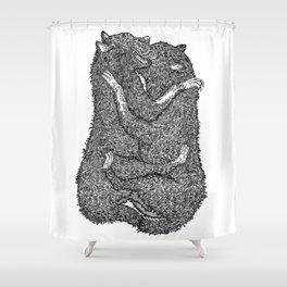 Beasts Shower Curtain